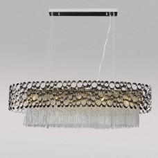 Хрустальная люстра Crystal Lux FASHION SP5 L100 никель