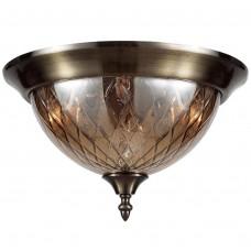 Потолочный светильник Crystal Lux NUOVO PL3 BRONZE бронзовый