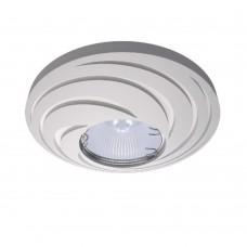 Гипсовый светильник Декоратор DK-016 белый