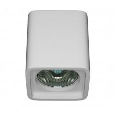 Накладной гипсовый светильник Декоратор PS-003-2 70*70*80 мм GU5.3 MR16