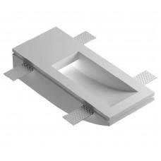 Врезной гипсовый светильник Декоратор ST-007 200*80 мм G9