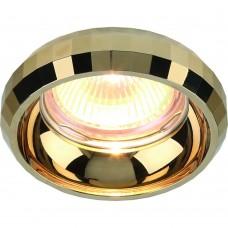 Встраиваемый светильник Divinare 1737/01 PL-1 SCUGNIZZO Золото