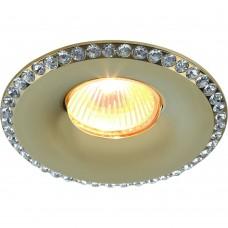 Встраиваемый светильник Divinare 1770/01 PL-1 MUSETTA Золото