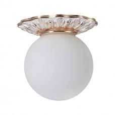 Потолочный светильник Divinare 5007/20 PL-1 Isabella бiло-золотий