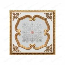 Панно 1212-117A ABR квадратное бронза антик/зеркало серебряное