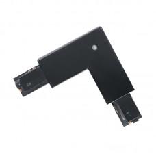 60774 Соединитель 90° для накладного шинопровода, 83х22мм, черный
