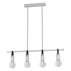 Подвесной светильник Eglo Apricale 98282 серый, черный E27 60 Вт