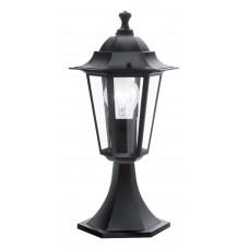 Фонарь уличный Eglo Laterna 4 22472 черный E27 60 Вт