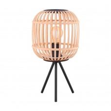Настольная лампа Eglo Bordesley 43218 черный E27 28 Вт
