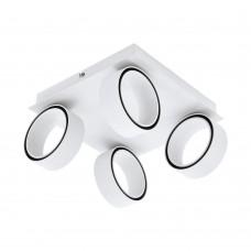 Потолочный светодиодный светильник Eglo Albariza 39587 белый, хром LED 20 Вт 3000K