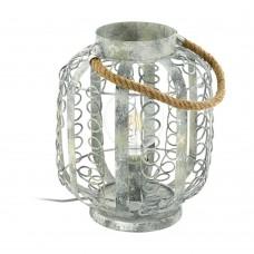 Настольная лампа Eglo Hagley 49134 золотисто-кремовый E27 60 Вт
