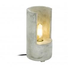 Настольная лампа Eglo Lynton 49111 серый E27 60 Вт
