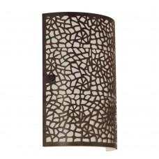 Настенный светильник Eglo Almera 89115 коричневый состаренный E14 60 Вт