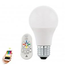 Лампа светодиодная димммруемая с пультом Eglo Eglo Connect 11585 E27 40 Вт 2765K