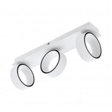 Спот светодиодный Eglo Albariza 39586 белый, хром LED 15 Вт 3000K