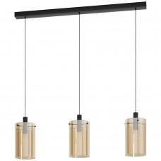 Подвесной светильник Eglo Polverara 39539 черный E27 40 Вт