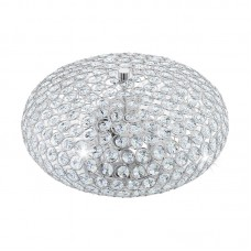 Потолочный светильник Eglo Clemente 95284 хром E27 40 Вт