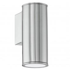 Уличный настенный светильник Eglo Riga 94106 нержавеющая сталь GU10 3 Вт