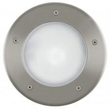 Грунтовый светильник Eglo Riga 3 86189 нержавеющая сталь E27 15 Вт