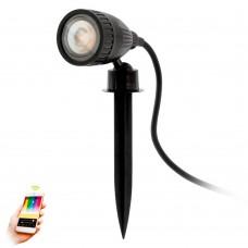 Светильник уличный умный свет Eglo Nema 1-C 98052 черный GU10 5 Вт