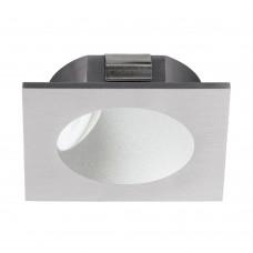 Подсветка светодиодная Eglo Zarate 80*80 мм 96902 серебряный LED 2 Вт 3000K