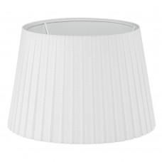 Абажур Eglo Vintage 49412 E14 ф245, Н170, ткань плиссе, белый