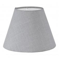 Абажур Eglo Vintage 49419 E14 ф205, Н145, текстиль, лен, серый