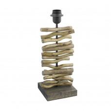 Настольная лампа Eglo Seahouse 49754 черный, коричневый E27 60 Вт