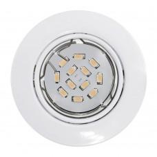 Встраиваемый светильник Eglo Peneto 94239 белый GU10 5 Вт
