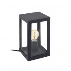 Настольная лампа Eglo Alamonte 1 94789 черный E27 60 Вт