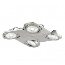Спот светодиодный Eglo Brea 39251 никель матовый LED 20 Вт 3000K