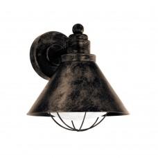 Уличный настенный светильник Eglo Barrosela 94858 медь состаренный E27 40 Вт