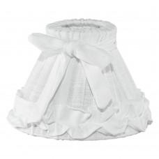 Абажур Eglo Vintage 49441 E14 ф205, Н145, текстиль, лен, белый