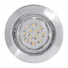 Встраиваемый светильник Eglo Peneto 94241 хром GU10 5 Вт
