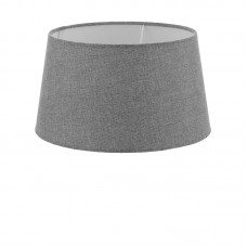 Абажур Eglo Vintage 49658 E27 60 Вт ф300, H165, текстиль, лен, серый