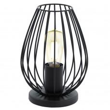 Настольная лампа Eglo Newtown 49481 черный E27 60 Вт