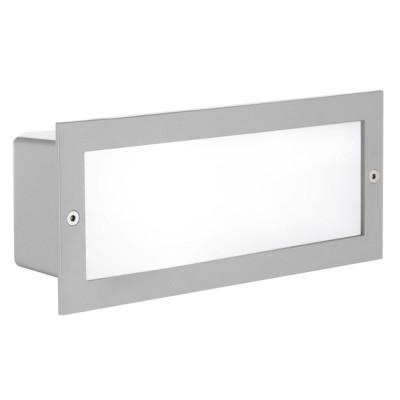 Светильник уличный Eglo Zimba 88008 серебряный E27 60 Вт