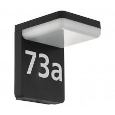Уличный настенный светильник Eglo Amarosi 98091 черный LED 10 Вт 3000K