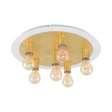 Потолочный светильник Eglo Passano 97493 белый, золото E27 4 Вт