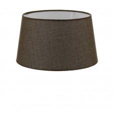 Абажур Eglo Vintage 49659 E27 60 Вт ф300, H165, текстиль, лен, коричневый
