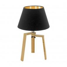 Настольная лампа Eglo Chietino 97515 натуральный, черный E27 60 Вт