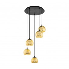 Подвесной светильник Eglo Albaraccin 98526 черный E27 40 Вт