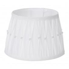 Абажур Eglo Vintage 49961 E27*E14 ф200, H135, текстиль с декором, белый