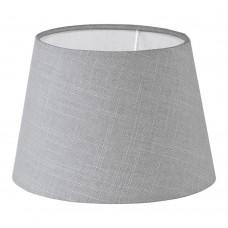 Абажур Eglo Vintage 49875 E27*E14 d=205, h=145, серый