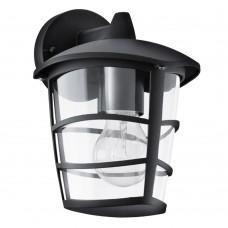 Уличный настенный светильник Eglo Aloria 93098 черный E27 60 Вт