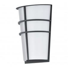 Уличный настенный светильник Eglo Breganzo 94138 антрацит LED 5 Вт 3000K
