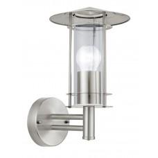Уличный настенный светильник Eglo Lisio 30184 нержавеющая сталь E27 60 Вт