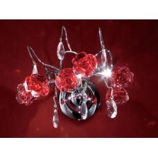 Хрустальное бра Eletto EL325W03.2 Rosa Rosso