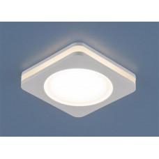 Встраиваемый светодиодный светильник Elektrostandard DSK80 5W LED белый 4200К