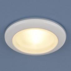 Встраиваемый светильник Elektrostandard 1080 50W G5.3 белый